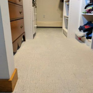 using carpet with grey walls