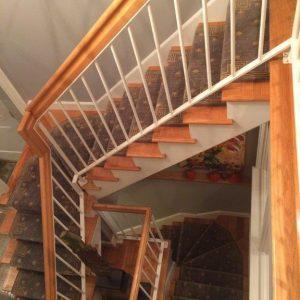 Nourison Cosmopolitan Celestial Grey Stair Runner
