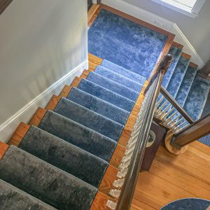 Rustic Textures - Denim - Stair Runner