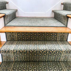 Chateau - Sapphire - Stair Runner - Wool