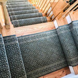 Chateau - Sapphire - Stair Runner