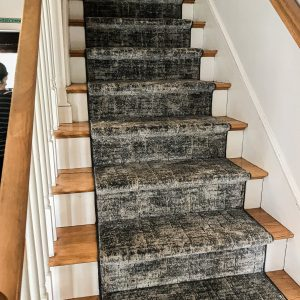 Couristan - Maxell Fieldstone - Granite - Stair Runner