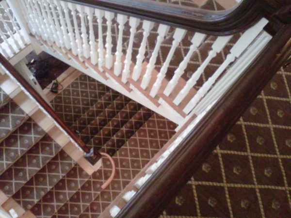 Custom stair runners are our specialty!