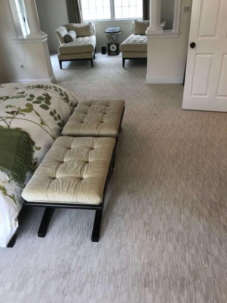 patterned wall to wall carpet