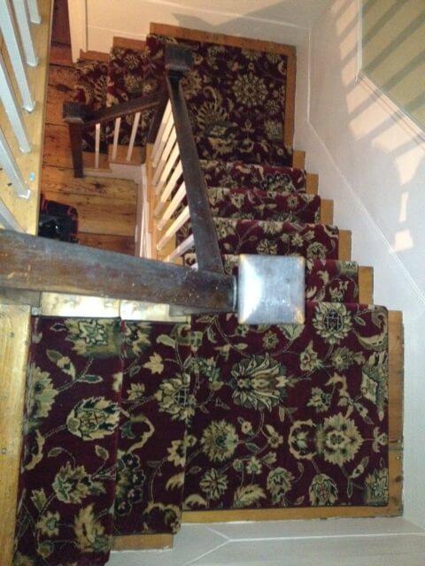 narrow width stair runner