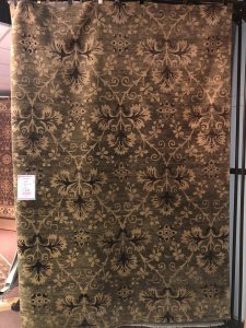 rug warehouse sale - charcoal fern