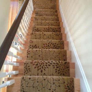 Nourison Radiant Expressions Stair Runner Install
