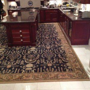 grand parterre custom rug