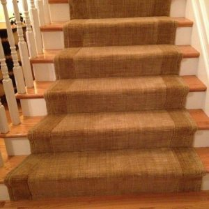 grand texture dijon fan stairrunner