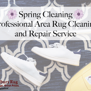 Spring Cleaning - Area Rug Cleaning and Repair Services