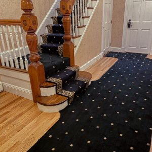 Nourison - Cosmo Squares - Midnight - Hall & Stair Runner